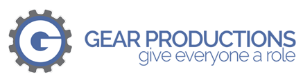 GEAR Productions (501c3) Logo